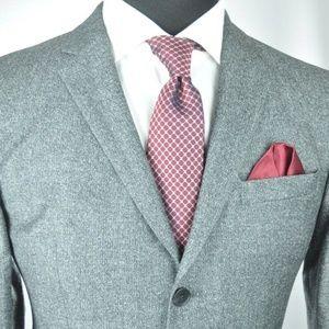 Hugo Boss Wool/Silk Suit 40 R + Versace Tie